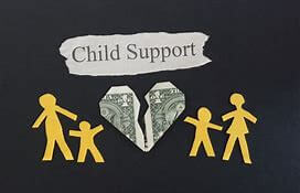 miam child support family art paper work